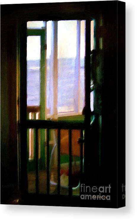 Beach Canvas Print featuring the painting Carolina Morning by RC DeWinter