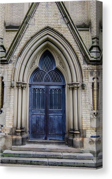 Buildings Canvas Print featuring the photograph Cathedral Church Of St James 1105 by Guy Whiteley