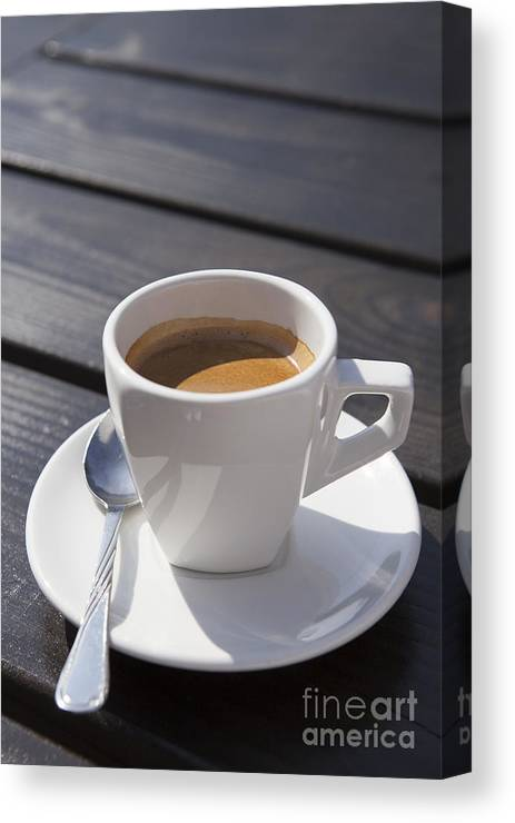 Aroma Canvas Print featuring the photograph Coffee Time by Ciprian Kis