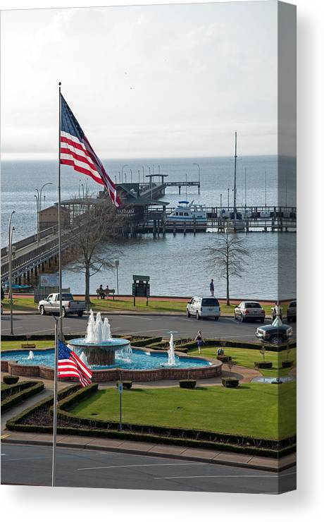 Fairhope Canvas Print featuring the photograph Fairhopian Delight by David Dittmann