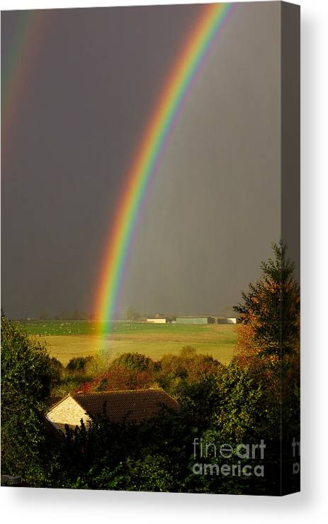 Rainbow Canvas Print featuring the photograph Gonzalo Rainbow by Jeremy Hayden