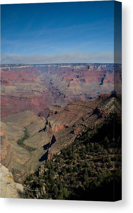 Grand Canvas Print featuring the photograph Grande Canyon Afternoon by Douglas Barnett