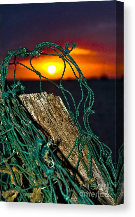 Heeia Canvas Print featuring the photograph Heeia Sunrise by Laarni Montano