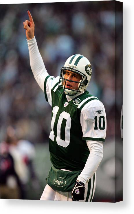 fa8475442 Houston Texans Canvas Print featuring the photograph Houston Texans V New  York Jets by Chris Trotman