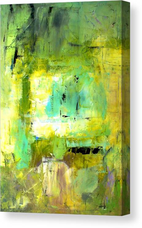 Canvas Print featuring the painting It's A Beautiful Day by Paul Sclafani