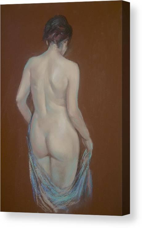 Lynda Robinson Canvas Print featuring the painting Learning Curves by Lynda Robinson