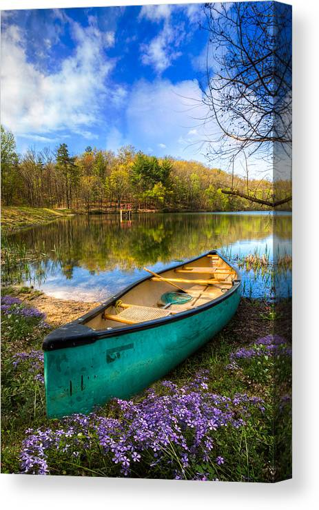 Appalachia Canvas Print featuring the photograph Little Bit Of Heaven by Debra and Dave Vanderlaan