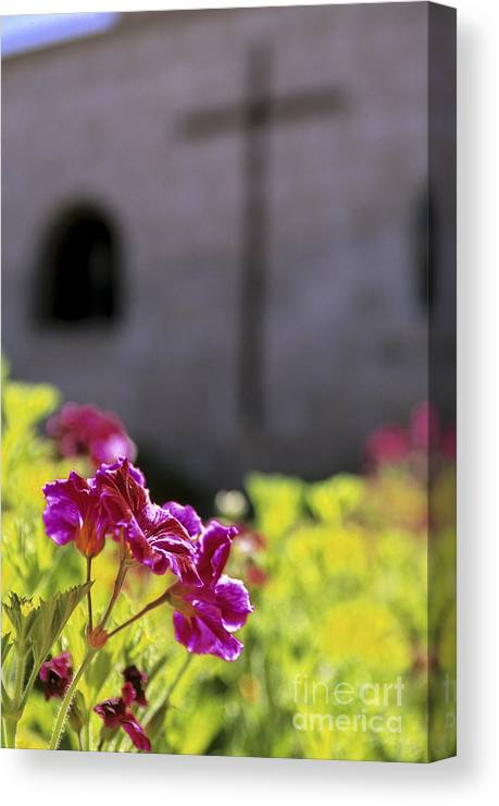 Architecture Canvas Print featuring the photograph Monastery Arequipa Peru by Ryan Fox
