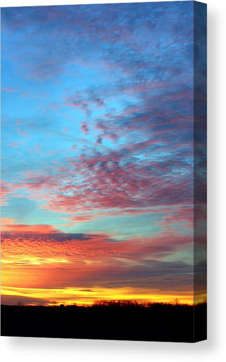 Sunrise Canvas Print featuring the photograph Morning Glory by Laurel Gillespie