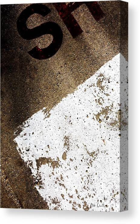 Abstract Canvas Print featuring the photograph SH by Bob Orsillo