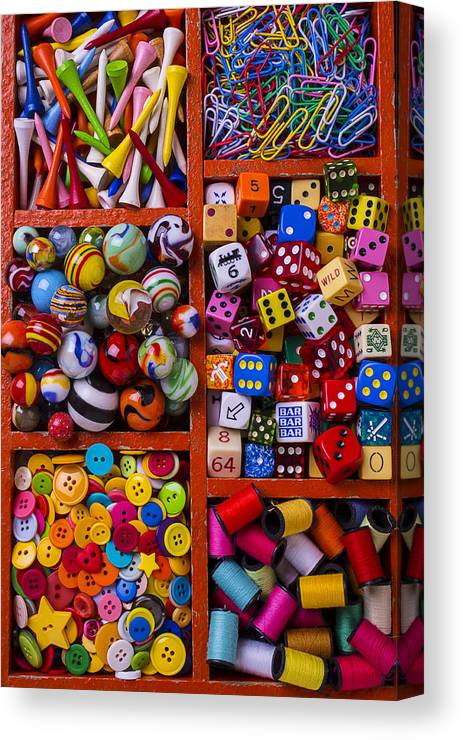 Collection Canvas Print featuring the photograph The Collection by Garry Gay
