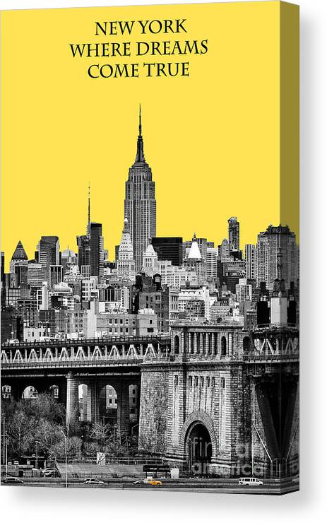 Black And Yellow Canvas Prints | Fine Art America