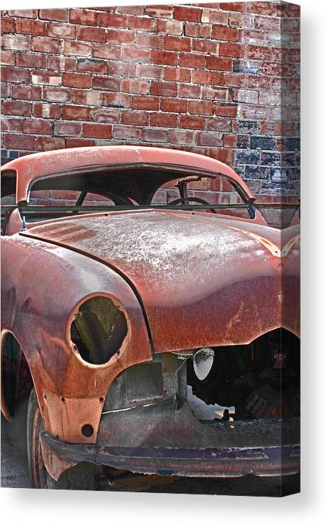 Car Canvas Print featuring the photograph The Fixer Upper by Lynn Sprowl