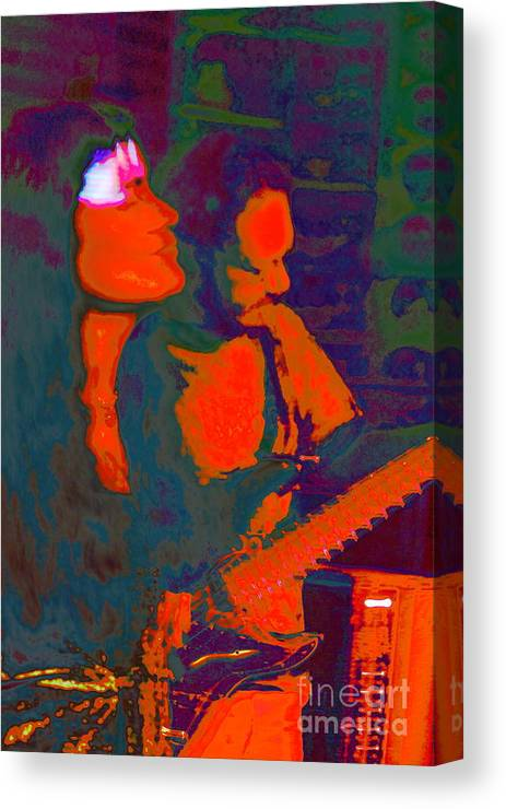Music Canvas Print featuring the photograph The Garcia Project by Jesse Ciazza