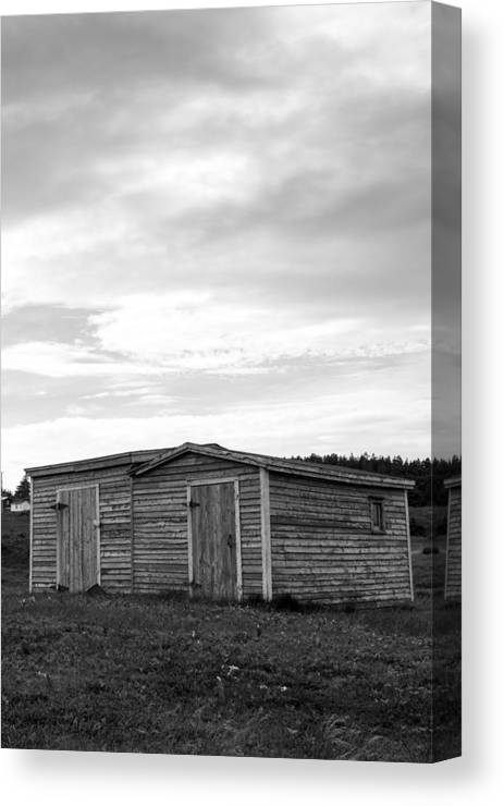 Shed Canvas Print featuring the photograph Two Sheds by Crystal Fudge