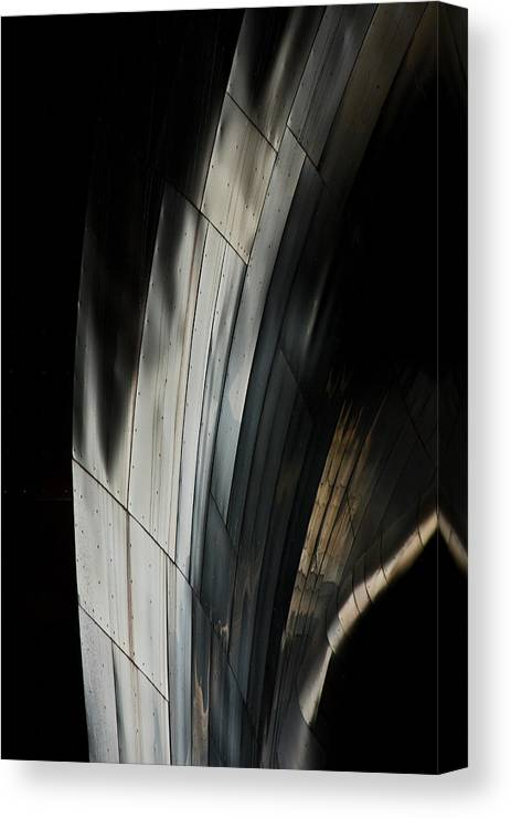 Metal Canvas Print featuring the photograph Welcome To The Machine by Steve Raley