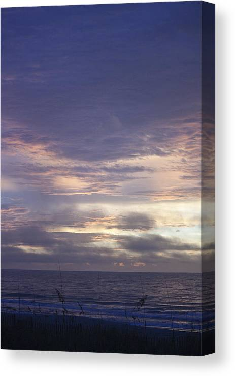 Sunrise Canvas Print featuring the photograph Atlantic Ocean Sunrise 2 by Teresa Mucha