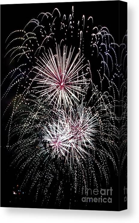 Celebration Canvas Print featuring the photograph Baby You're A Firework by Amanda Laskin
