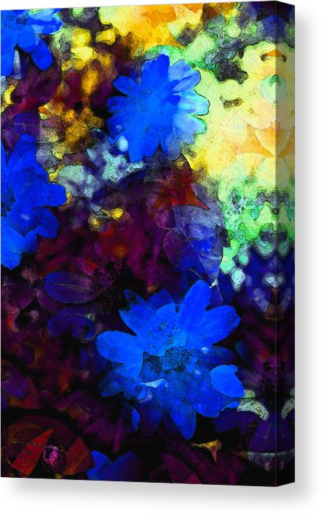 Floral Canvas Print featuring the photograph Color 109 by Pamela Cooper