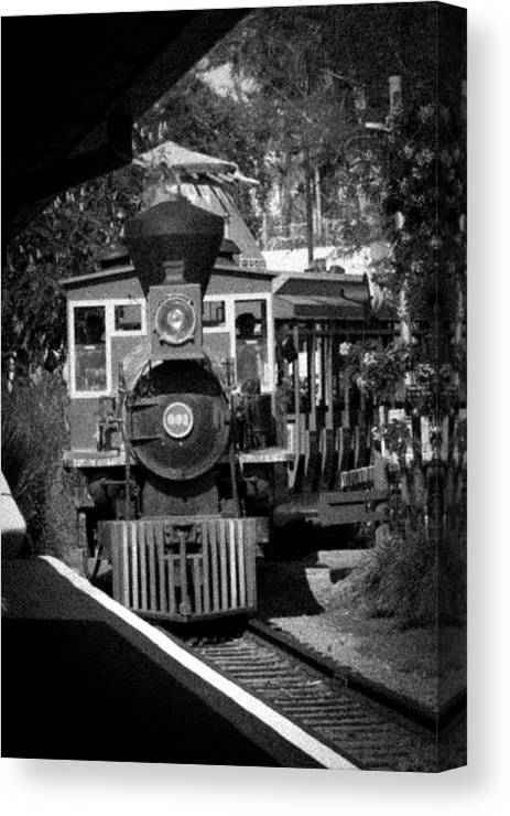 Busch Canvas Print featuring the photograph Comin Round The Bend by Nicholas Evans