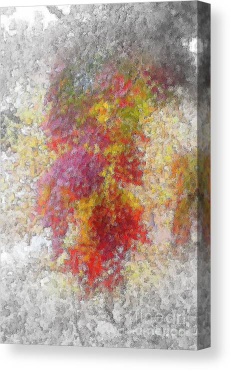 Fall Canvas Print featuring the photograph Fall Leaves by Mark Gilman