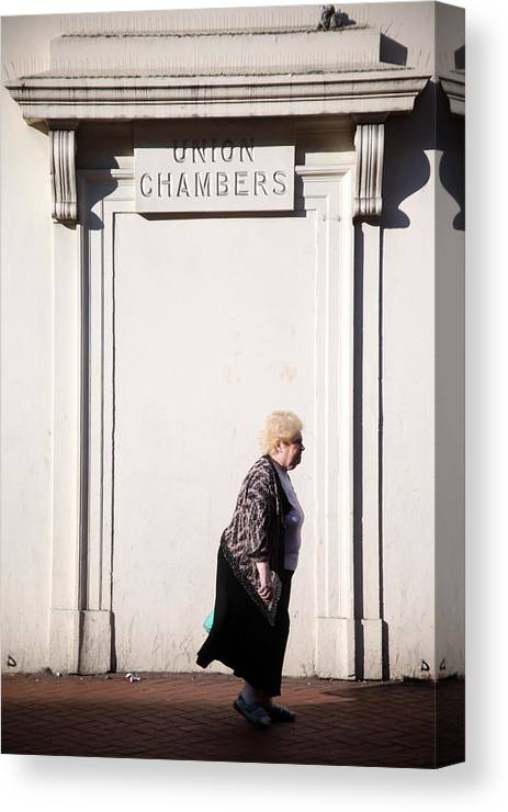 Jezcself Canvas Print featuring the photograph From The Chambers by Jez C Self