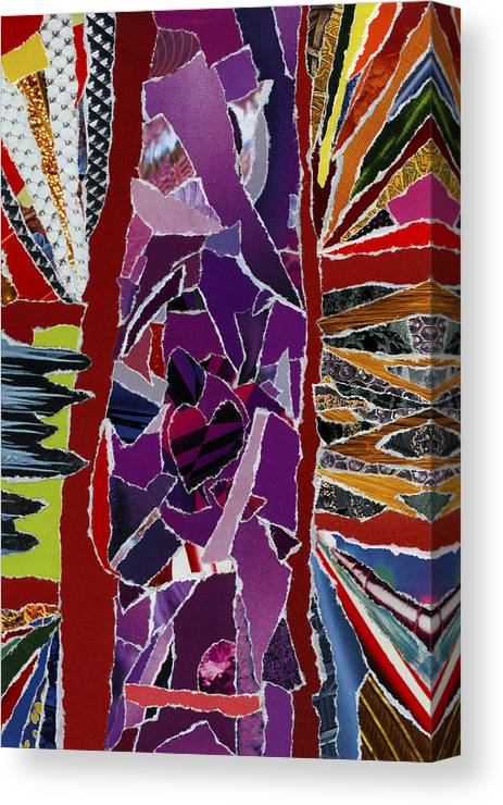 Life's Better Dance Canvas Print featuring the mixed media Life's Better Dance by Kenneth James