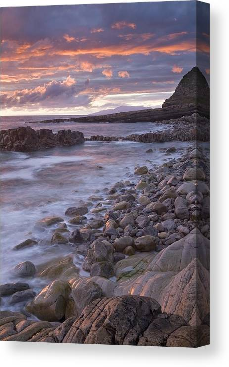 Sunset Canvas Print featuring the photograph Mullaghmore Head, Co Sligo, Ireland by Gareth McCormack