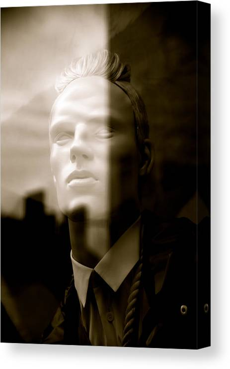 Jezcself Canvas Print featuring the photograph Not The Only Side To Me by Jez C Self