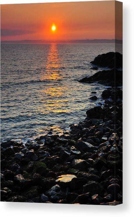 Sunset Canvas Print featuring the photograph Sunset 2 by Jenny Potter