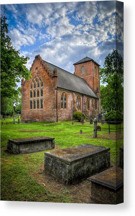 Smithfield Canvas Print featuring the photograph The Other Side Of St Lukes by Williams-Cairns Photography LLC