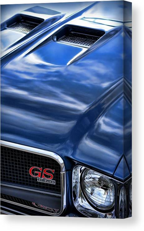 1970 Canvas Print featuring the photograph 1970 Buick Gs 455 by Gordon Dean II
