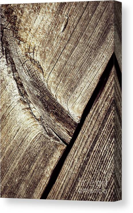 Old Canvas Print featuring the photograph Abstract Detail Of A Wooden Old Board by Jozef Jankola