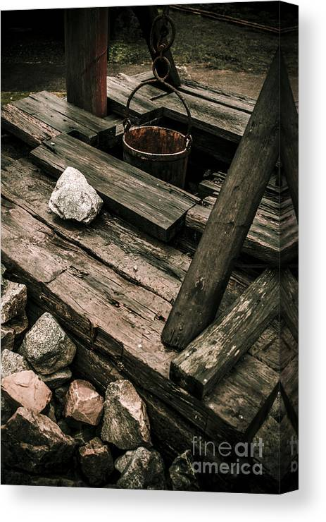 Mine Canvas Print featuring the photograph 19th Century Shaft Mining by Jorgo Photography - Wall Art Gallery