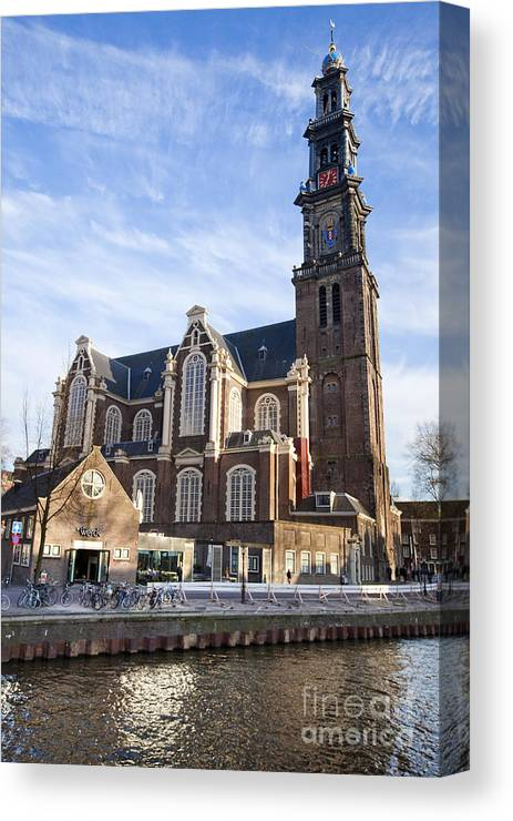 Age Canvas Print featuring the photograph Amsterdam by Andre Goncalves