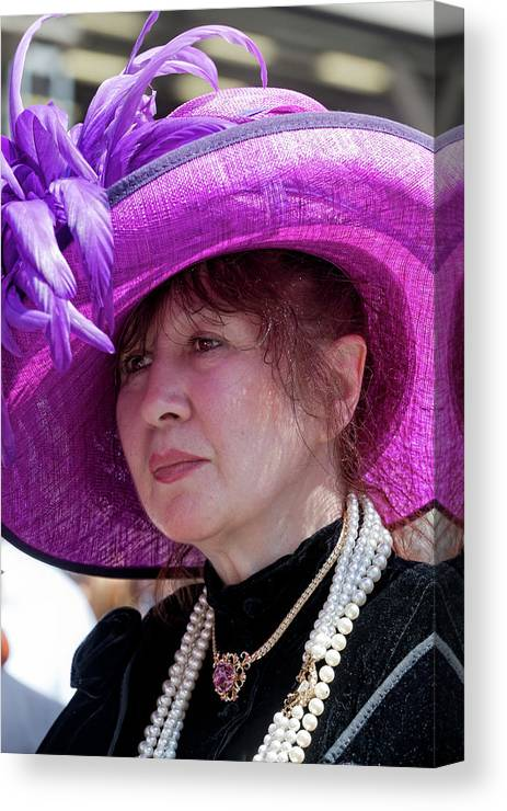 Easter Parade Canvas Print featuring the photograph Easter Parade 2011 by Robert Ullmann