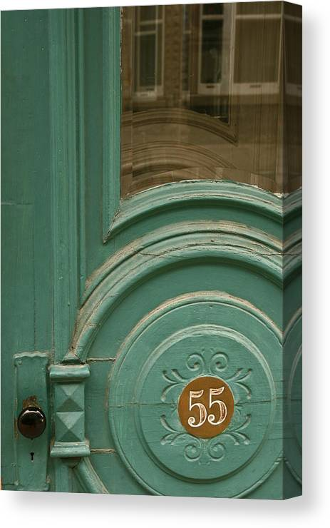 Door Canvas Print featuring the photograph 55 by Art Ferrier