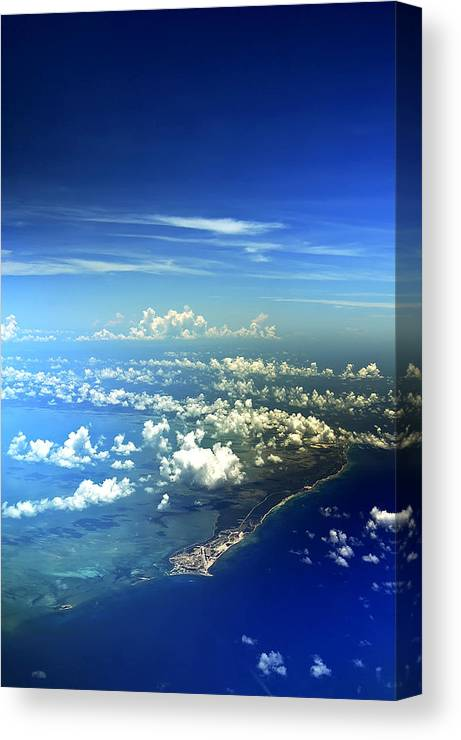 Bahamas Canvas Print featuring the photograph A Whole New World by Mandy Wiltse