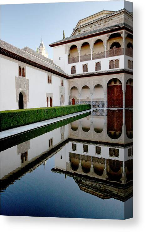 Alhambra Canvas Print featuring the photograph Alhambra by Jason Hochman