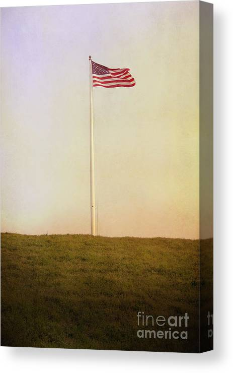 America Canvas Print featuring the photograph American The Beautiful by Margie Hurwich