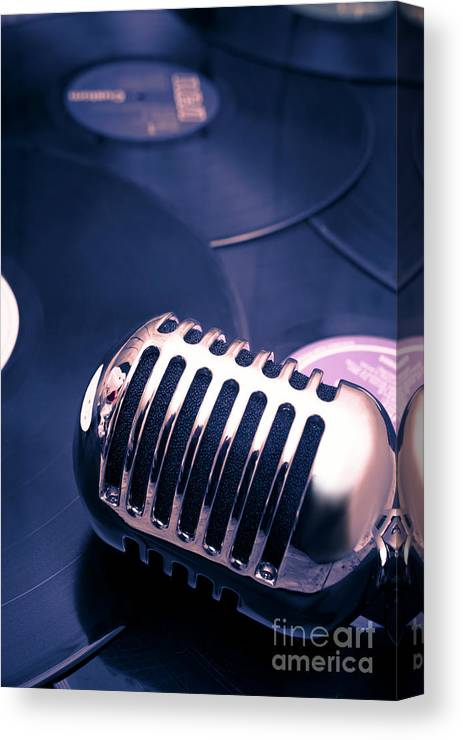 Broadcast Canvas Print featuring the photograph Art Of Classic Communication by Jorgo Photography - Wall Art Gallery