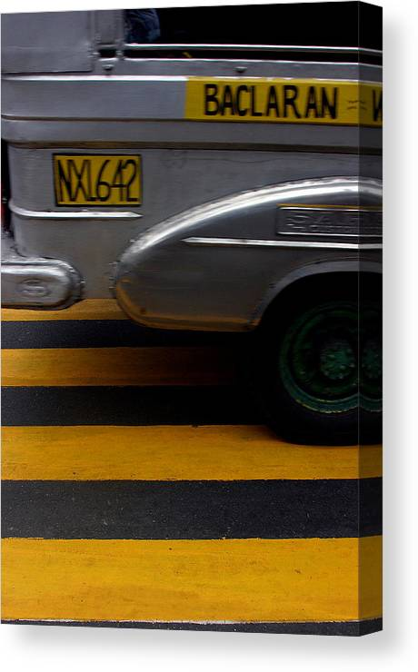 Photographer Canvas Print featuring the photograph Baclaran 3 by Jez C Self