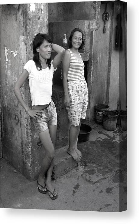 Photographer Canvas Print featuring the photograph Bakla And Friend 2 by Jez C Self