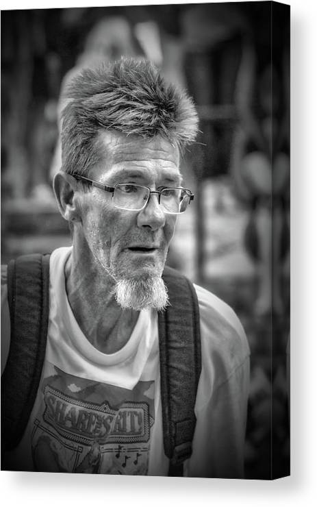 Become One Canvas Print featuring the photograph Become One by John Haldane