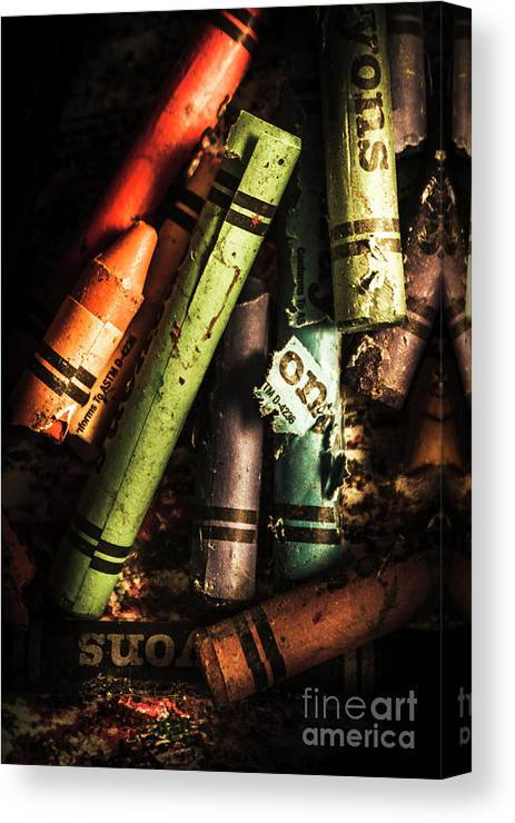 Creative Canvas Print featuring the photograph Breakdown Of Color by Jorgo Photography - Wall Art Gallery