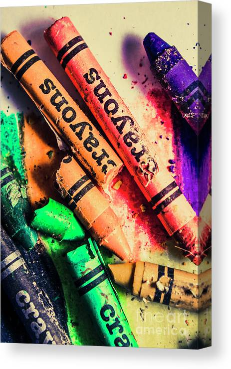 School Canvas Print featuring the photograph Breaking The Creative Spectrum by Jorgo Photography - Wall Art Gallery