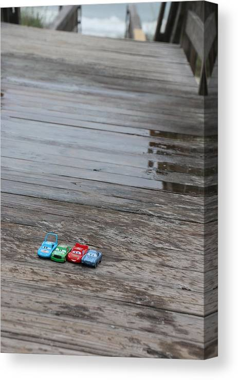 Cars Canvas Print featuring the photograph Cars by Kami Gauvey