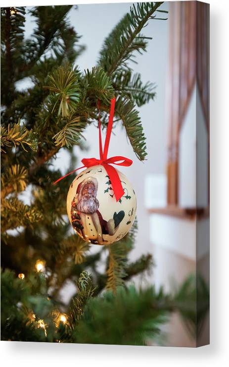Christmas Canvas Print featuring the photograph Christmas 6 by David Stasiak