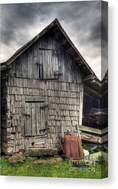 Landscape Canvas Print featuring the photograph Closed For Business by Pete Hellmann
