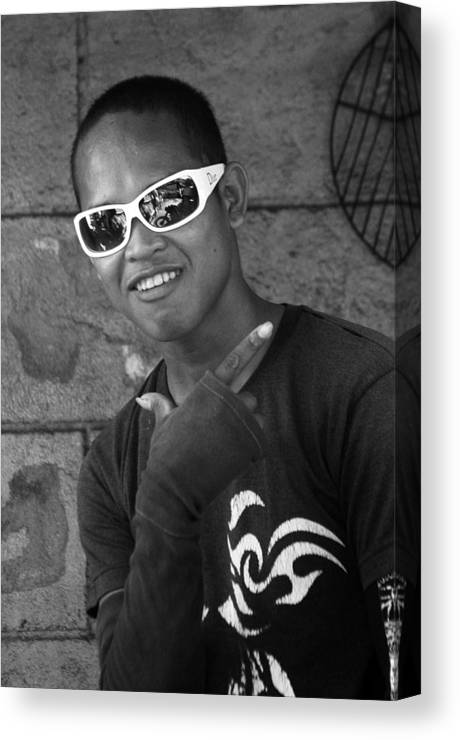 Photographer Canvas Print featuring the photograph Cool Dude by Jez C Self
